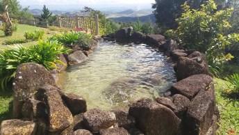 Laguinho Artificial Lindo, Rodeado Por Natureza! Que Lugar Maravilhoso!