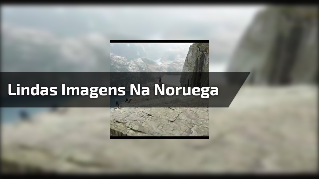 Lindas imagens na Noruega