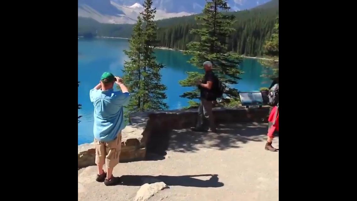 Lindas imagens da natureza no Canadá