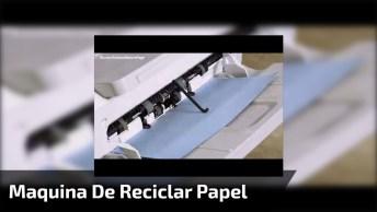 Maquina De Reciclar Papel Da Epson, A Primeira Em Produção De Papel Compacto!