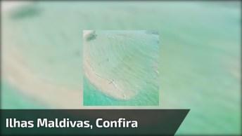 Mar Nas Ilhas Maldivas, Como É Belíssimo Este Lugar! Vale A Pena Conferir!