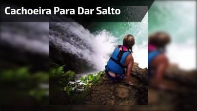 Marca Seus Amigos Que Teriam Coragem De Pular Nesta Cachoeira!