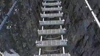 Marque Seus Amigos E Amigas Que Atravessariam Esta Ponte Sem Problemas!