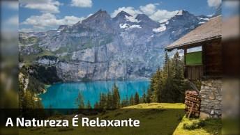 Natureza Em Algum Lugar Na Suíça, Olha Só Que Coisa Mais Linda!
