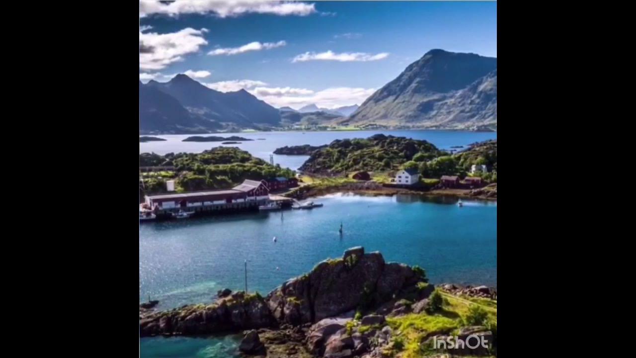 Noruega, um lugar cheio de natureza lugares fantasísticos de muita beleza