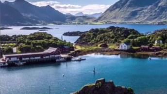 Noruega, Um Lugar Cheio De Natureza Lugares Fantasísticos De Muita Beleza!