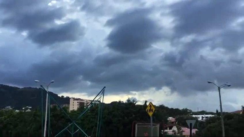 Nuvem estranha no céu de Costa Rica