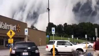 Nuvem Gigante Que Parece Engolir Ilinóis, Veja Que Impressionante!
