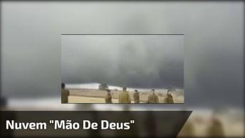 Nuvem 'Mão De Deus' Aparecendo Em Israel Nas Colinas Golã!