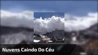 Nuvens Caindo Do Céu, Será Que Isso Realmente É Possível?