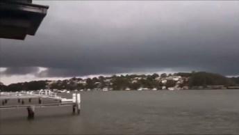 Olha Só A Força Da Natureza! Homem Tentou Gravar Chuva E Veja O Que Aconteceu!