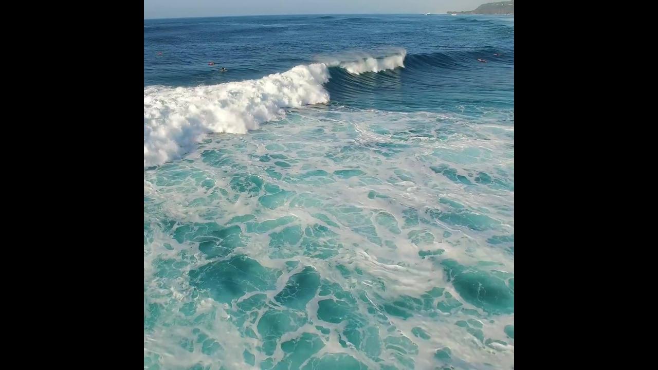 Ondas do mar, veja que coisa mais linda estas águas