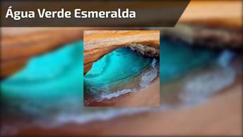 Paraíso Com Água Verde Esmeralda, Olha Só Que Lugar Lindo!