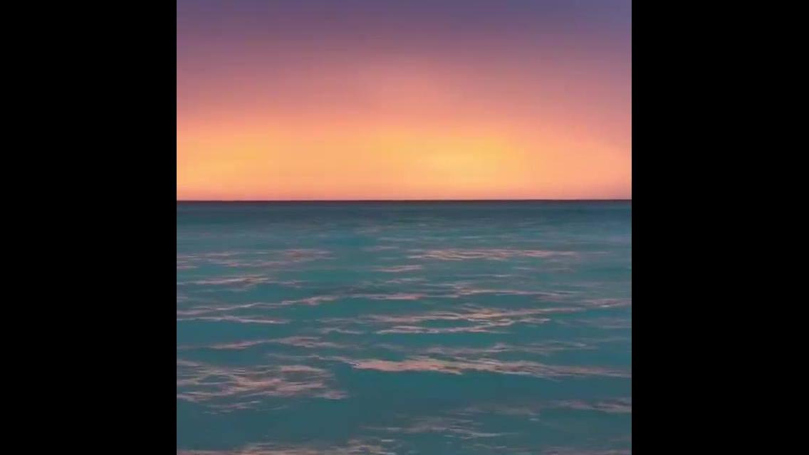 Pôr do Sol na praia, a imagem mais linda que vai ver hoje