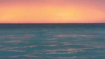 Pôr Do Sol Na Praia, A Imagem Mais Linda Que Vai Ver Hoje!