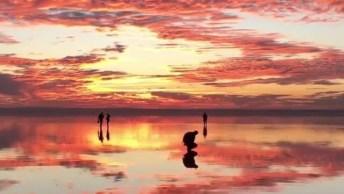 Por Do Sol Na Turquia Uma Imagem Surreal De Tão Bela, Confira!