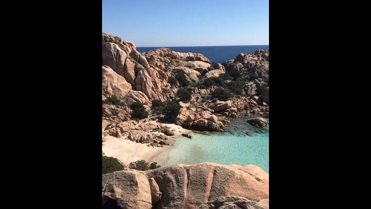 Praia Caprera-Itália, veja que lugar magnifico
