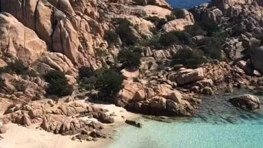 Praia Caprera-Itália, Veja Que Lugar Magnifico, Pedaço Do Paraíso Na Terra!