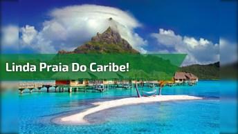 Praia Com Águas Cristalinas Na Republica Dominicana, Veja Que Linda!