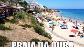 Praia Da Oura Em Albufeira - Portugal, Um Lugar Lindo E Maravilhoso!