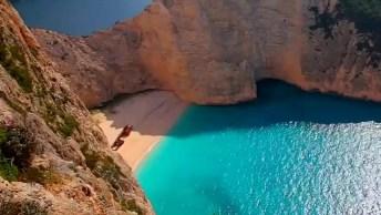 Praia De Navagio Na Grécia - Ilha De Zakynthos, Muito Lindo!
