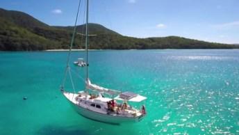 Praia No Caribe, Um Lugar Cercado Por Natureza Maravilhoso!