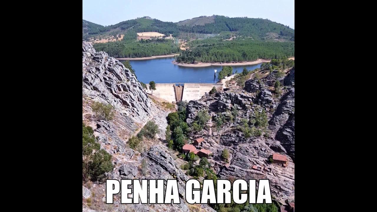 Praia Penha Garcia, uma das mais belas praias de Portugal