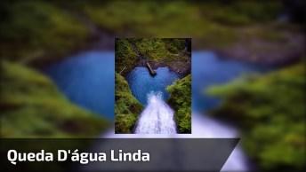 Queda D'Água De Cachoeira, Como A Natureza É Maravilhosa E Linda!