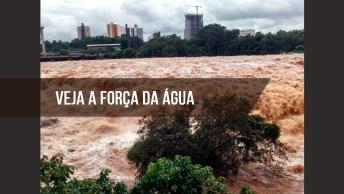 Rio Piracicaba, Veja A Força Das Águas Após Longo Período De Chuva!