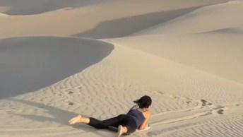Surfando Na Areia Do Deserto Peruano, Olha Só Que Incrível!
