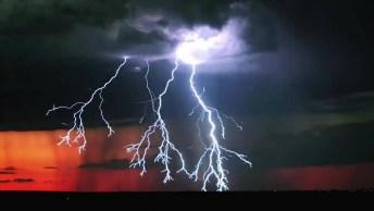 Tempestade Com Raios, Um Fenômeno Natural Que Assusta Muita Gente!