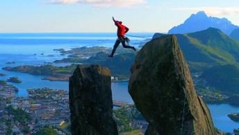 Teria Coragem De Escalar Esse Lugar Lindo Da Natureza? Que Espetáculo!