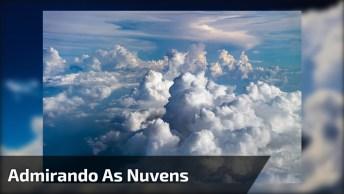 Vendo A Natureza Da Janela De Um Avião, Que Imagem Mais Linda!