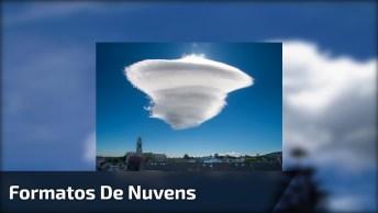 Vídeo Com Fotos De Formatos De Nuvem Impressionantes, Vale A Pena Conferir!