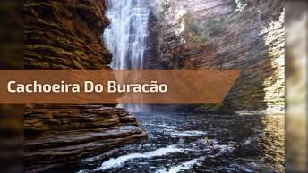 Vídeo Com Imagens Da Cachoeira Do Buracão Na Chapada Da Diamantina!