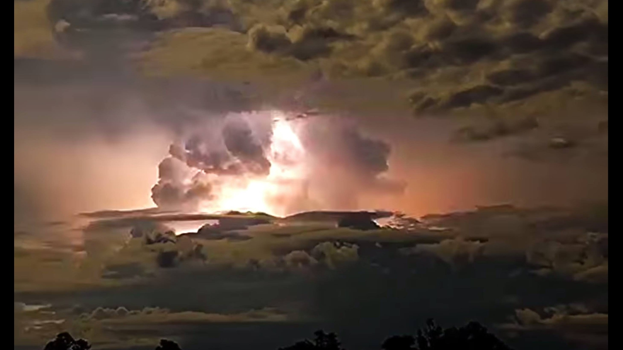 Vídeo com imagens impressionantes de tempestades, a natureza é feroz!!!