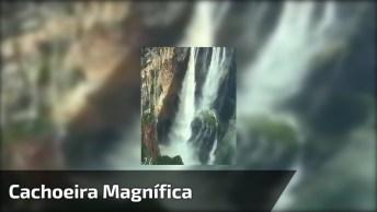 Vídeo Com Linda Cachoeira Em Algum Lugar Do Mundo, Veja Estas Imagens Incríveis!