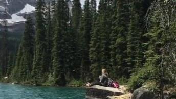 Vídeo Com Lindo Lago O'Hara-Canadá, Simplesmente Um Espetáculo De Lugar!