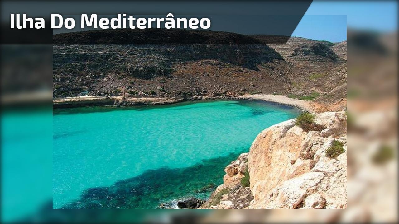 Ilha do Mediterrâneo
