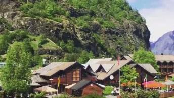 Vídeo Com Pedacinho De Flam Um Pequeno Vilarejo Que Se Encontra Na Noruega!