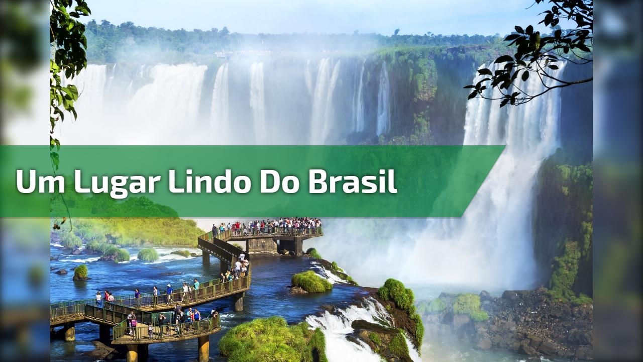 Um lugar lindo do Brasil