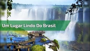 Vídeo Com Pedacinho De Foz Do Iguaçu, Um Lugar Lindo De Nosso Planeta!