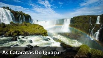 Vídeo Com Pouco De Nossa Maravilhosa Natureza, Veja As Cataratas Do Iguaçu!