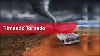 Vídeo Com Tornado Filmado Bem De Perto, É Muito Assustador, Confira!