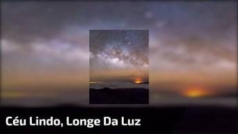 Vídeo Incrível Com A Via Láctea Nascendo No Horizonte, Confira!