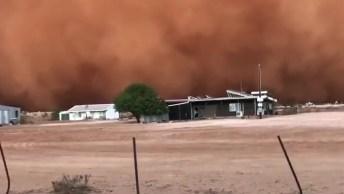 Vídeo Mostra Tempestade De Areia Na Austrália, Veja Que Assustador!