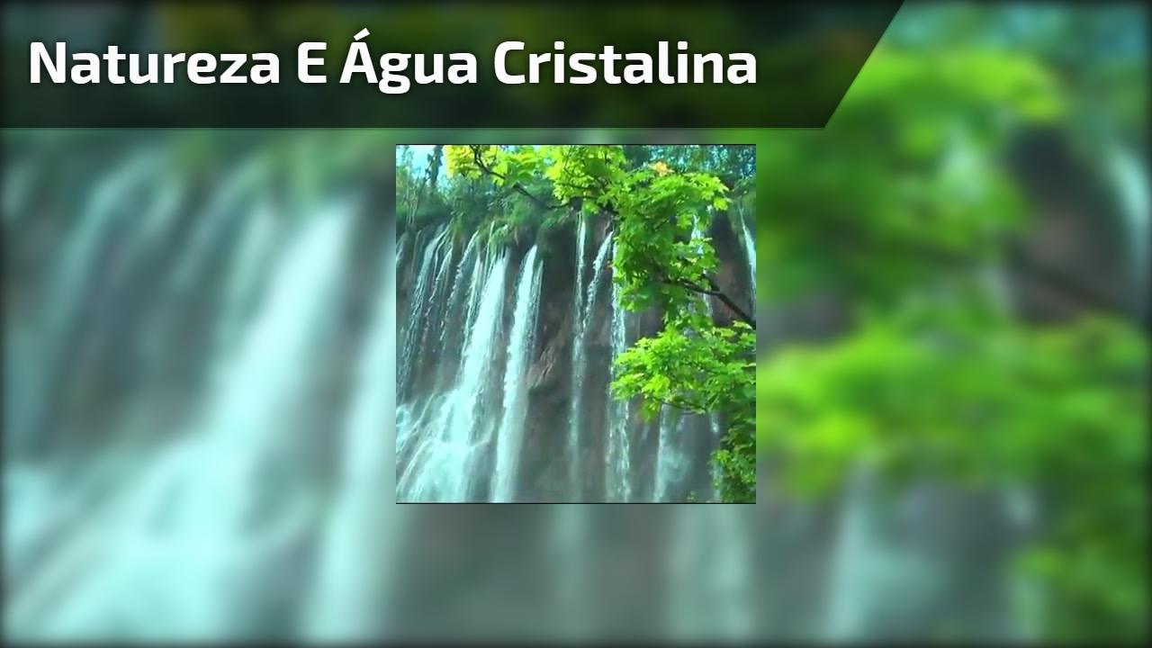 Natureza e água cristalina