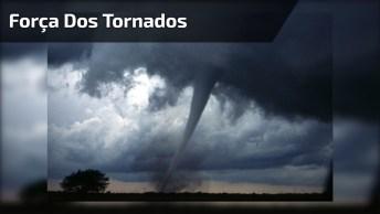 Vídeo Mostrando A Força Dos Tornados, É Impressionante Este Fenômeno Da Natureza