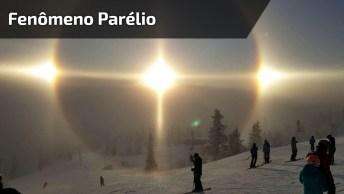 Vídeo Mostrando A Mágica Do Fenômeno Parélio, Veja Que Incrível!