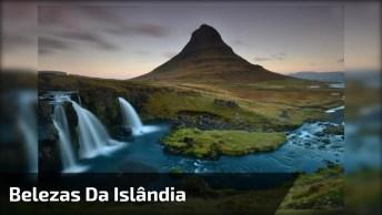 Vídeo Mostrando As Belezas Da Islândia, Veja Quanta Paisagem Natural!